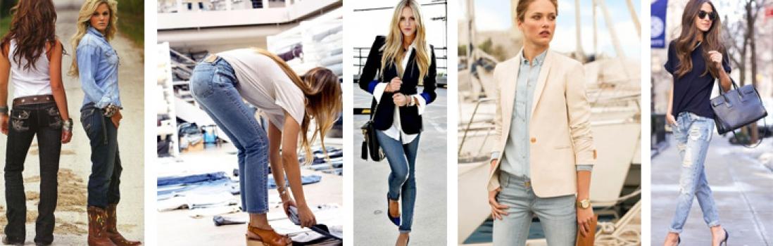 Tipy stylistky. Jaké džínsy nosí dáma?
